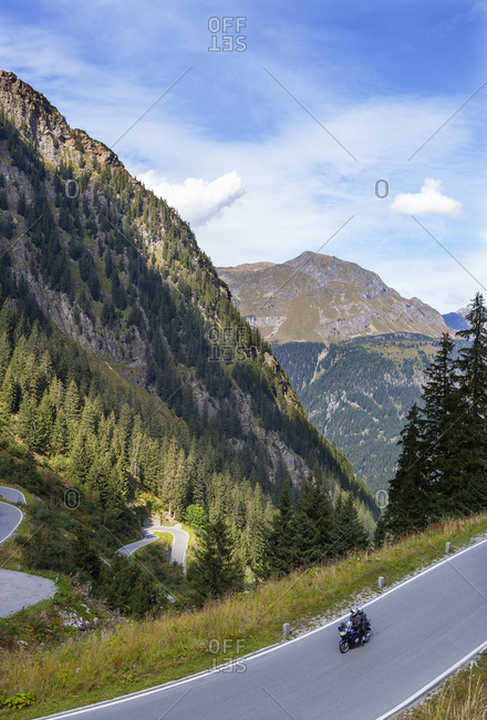 Austria- Vorarlberg- Silvretta High Alpine Road- Montafon