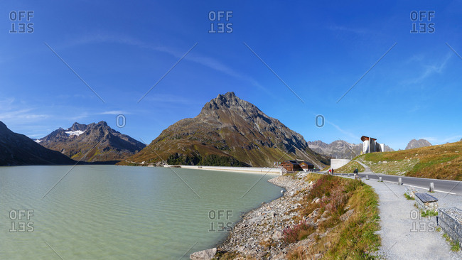 September 11, 2018: Austria- Vorarlberg- Bielerhoehe- Silvretta Reservoir