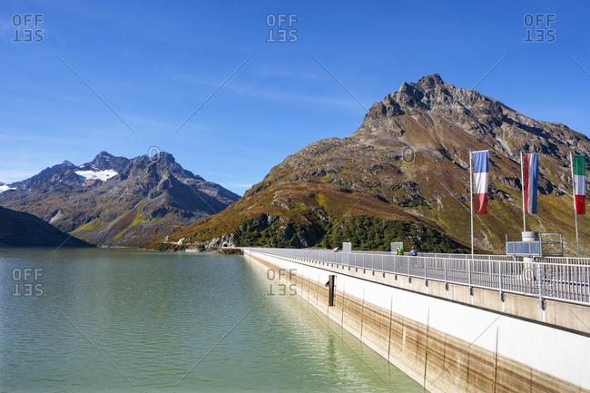 Austria- Vorarlberg- Bielerhoehe- Silvretta Reservoir