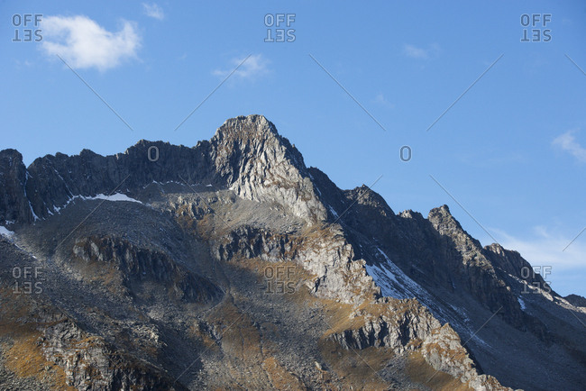 Austria- Salzburg State- High Tauern National Park- Zillertal Alps- mountainscape