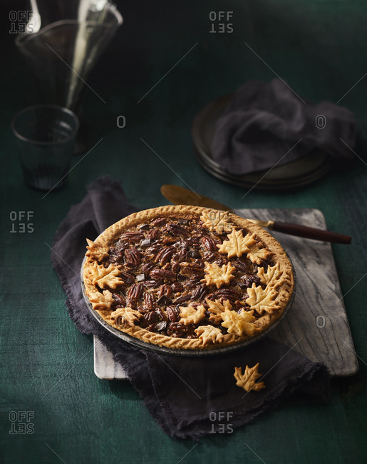 Pecan pie from the Offset Collection