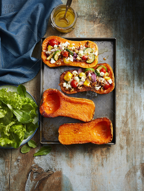 Roasted squash tray - Offset Collection