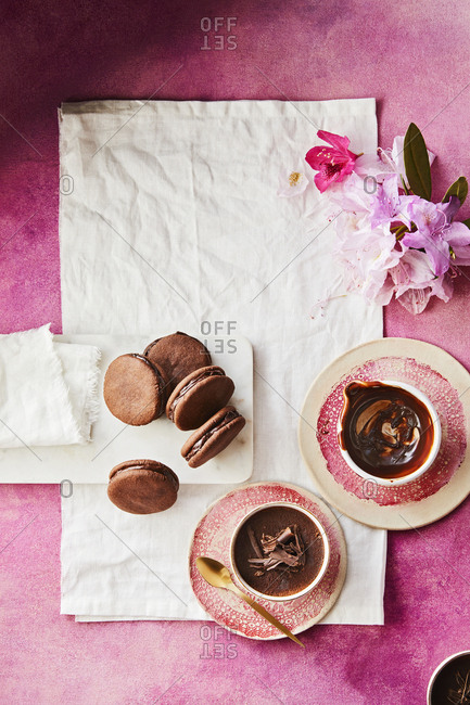 Chocolate stuffed cookies - Offset Collection