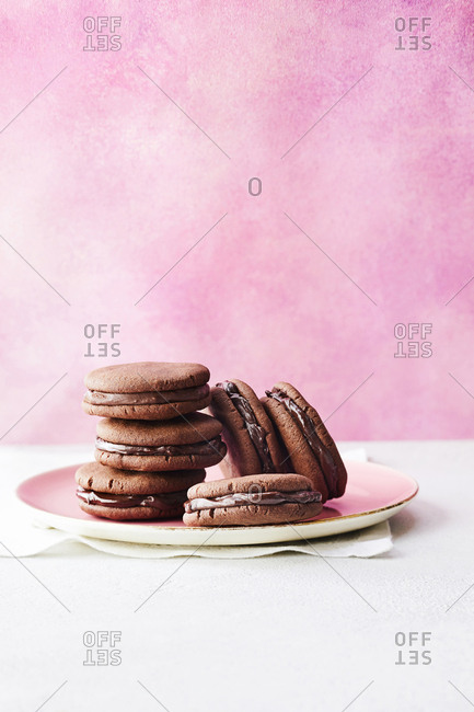 Double chocolate cookies - Offset Collection
