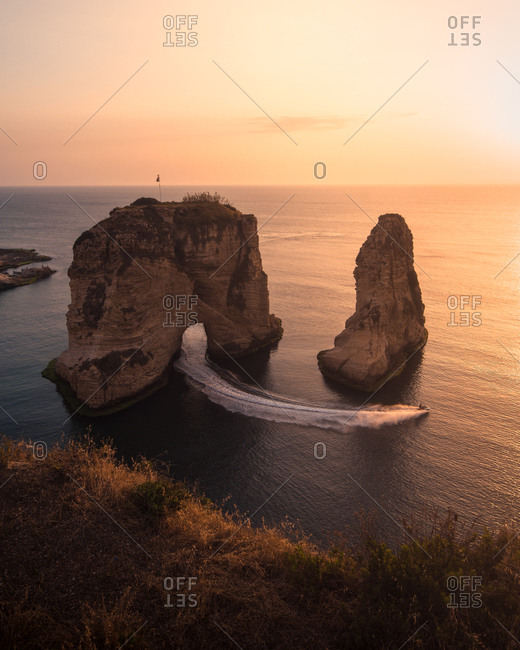 Sunset in Beirut - Offset Collection