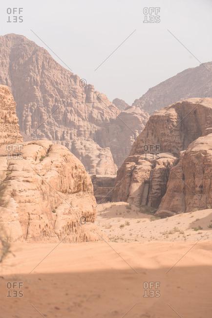 Wadi Rum Canyon