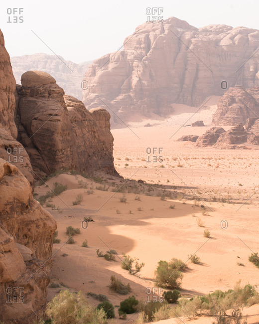 Wadi Rum Mountains & Shadows