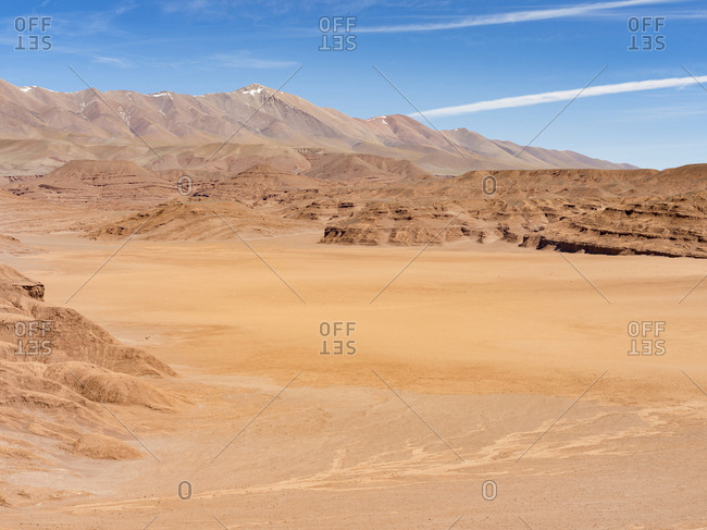 Desierto del Diablo. The Argentinian Altiplano along Routa 27 between Pocitos and Tolar Grande, Argentina.