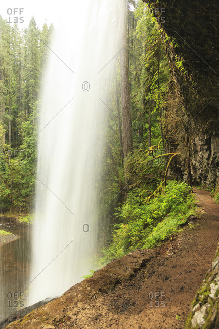 Trail of Ten Falls, Silver Falls State Park, near Silverton, Oregon