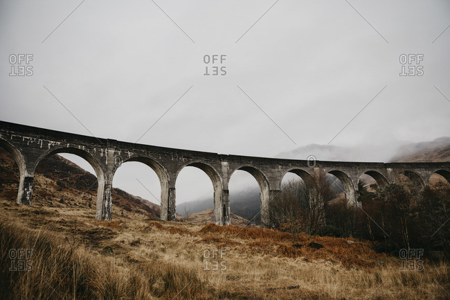 UK- Scotland- Glenfinnan Viaduct