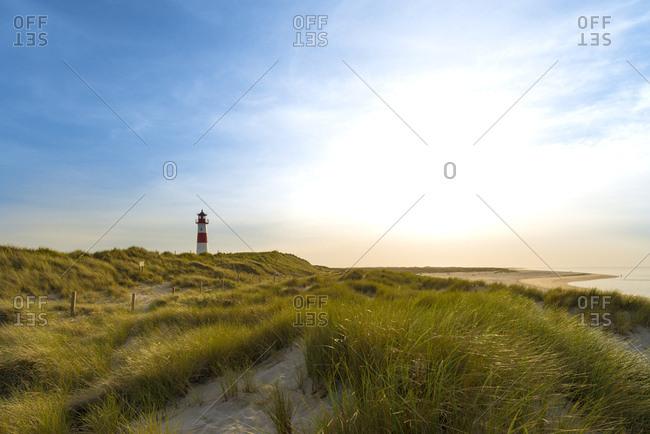 Germany- Sylt- List- lighthouse