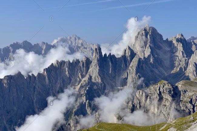 Italy- Dolomites- Trentino-Alto Adige- Cadini Mountain Group- Cadini di Misurina