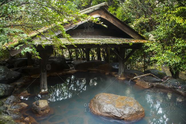 Japan- Kyushu- hotpool of public spa