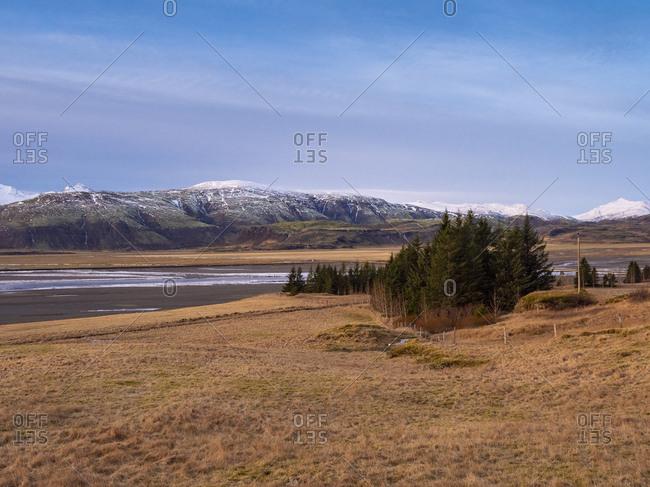 Iceland- Austurland- landscape on the way to Egilsstadir