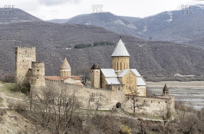 Georgia- Ananuri Fortress Complex
