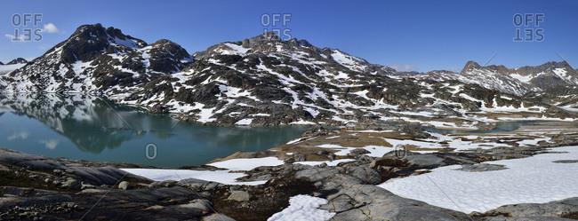 Greenland- East Greenland- Ammassalik Island- camp at Sammileq Fjord