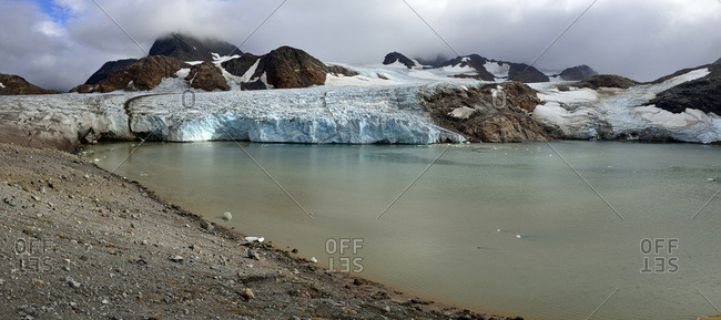 Greenland- East Greenland- Apusiaajik glacier near Kulusuk