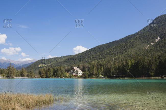 Italy- Alto Adige- Dolomites- Lago Dobbiaco