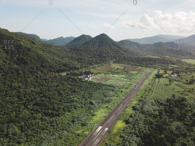 Indonesia- Sumbawa- runway