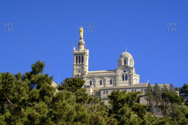 France- Marseille- Notre Dame de la Garde
