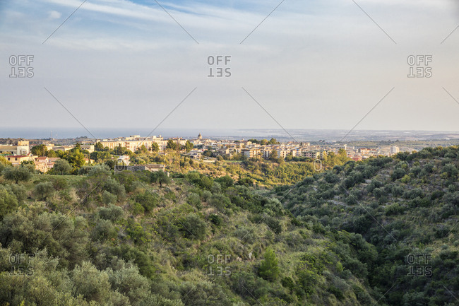 Italy- Sicily- View to Noto
