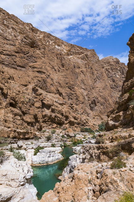 Sultanate Of Oman- Wadi Shab