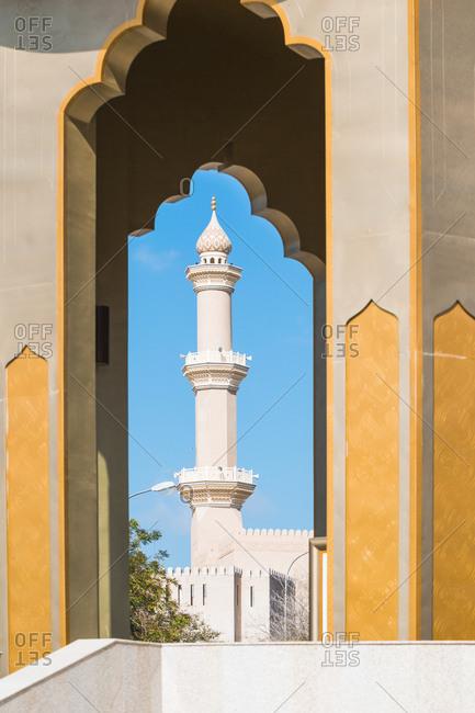 Minarett of Nizwa mosque- Nizwa- Oman