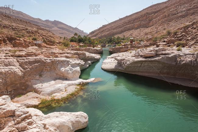 Arabia- Sultanate Of Oman- Wadi Bani Khalid