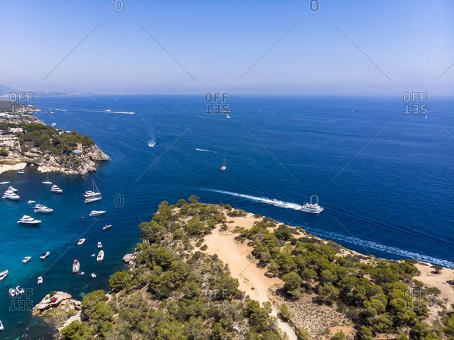 Spain- Mallorca- Palma de Mallorca- Aerial view of Portals Vells
