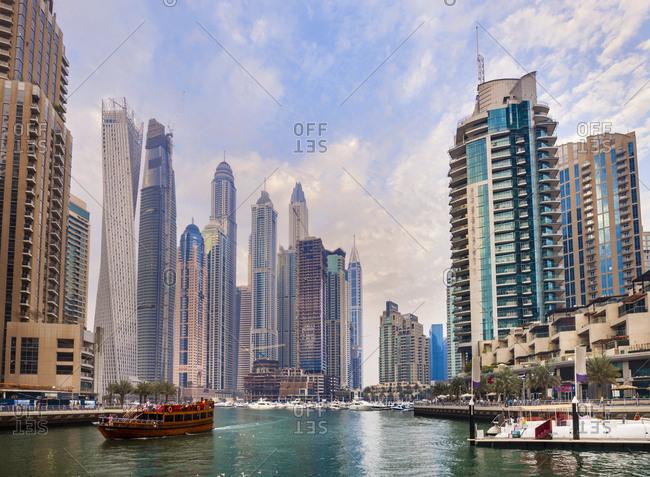 United Arab Emirates- Dubai- Marina