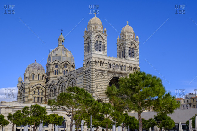France- Marseille- Marseille cathedral