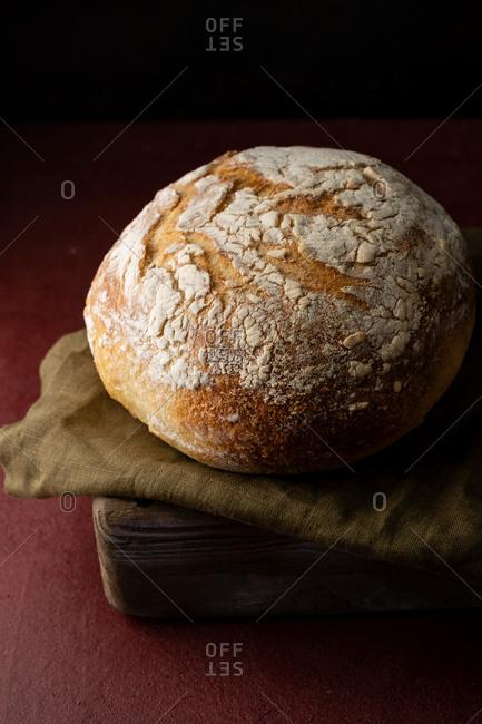 Fresh baked sourdough bread