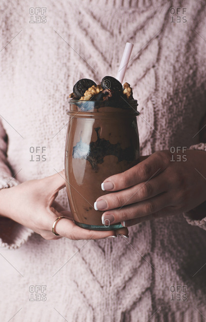 chocolate brownie shake