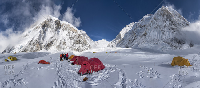 Nepal- Solo Khumbu- Everest- Camp at Western Cwm