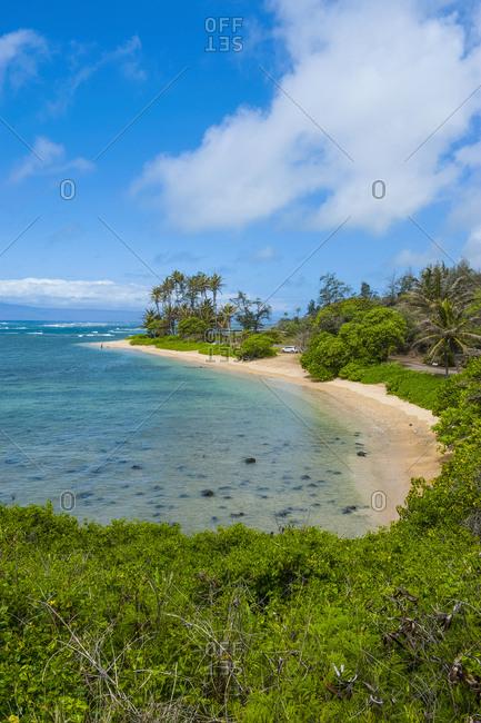 Hawaii- island of Molokai- twenty mile beach