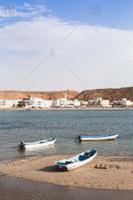 Fishing boats at Sur bay- Sur- Oman
