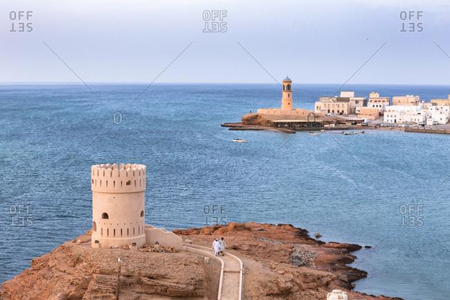 Watch tower of Al Ayjah Castle- Sur- Oman