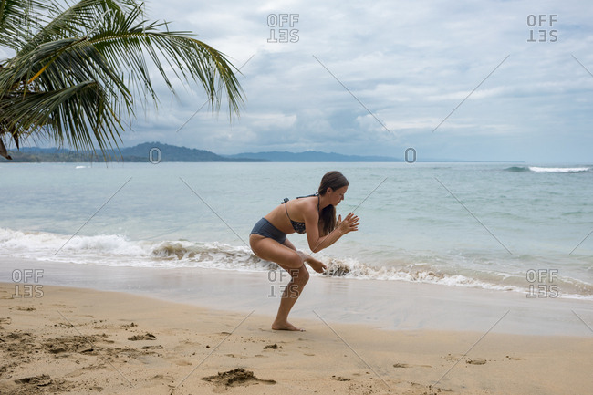 Lifestyle images on a beach in Costa Rica