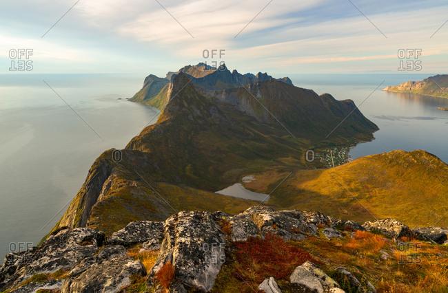 Scenic views on the Lofoten Islands, Norway