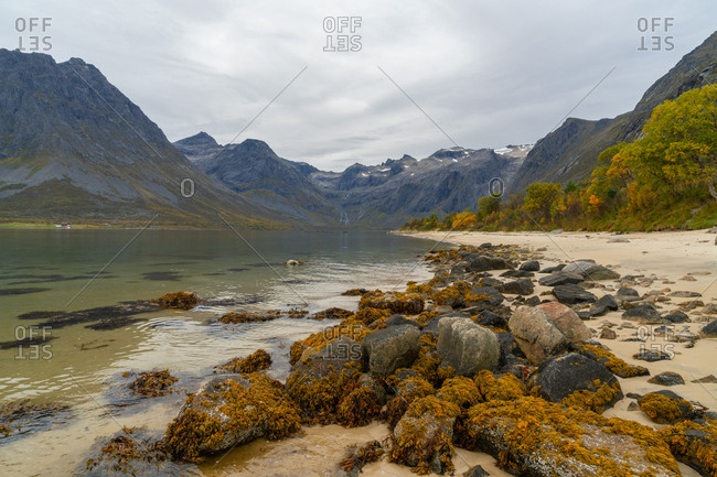 Picturesque views from the Lofoten Islands, Norway