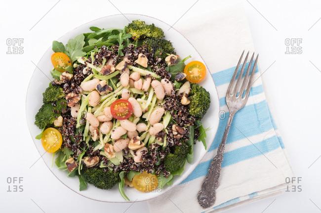 Quinoa broccoli salad