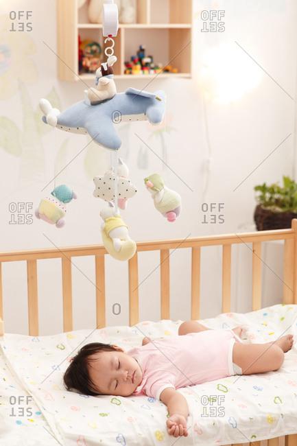 The baby to sleep