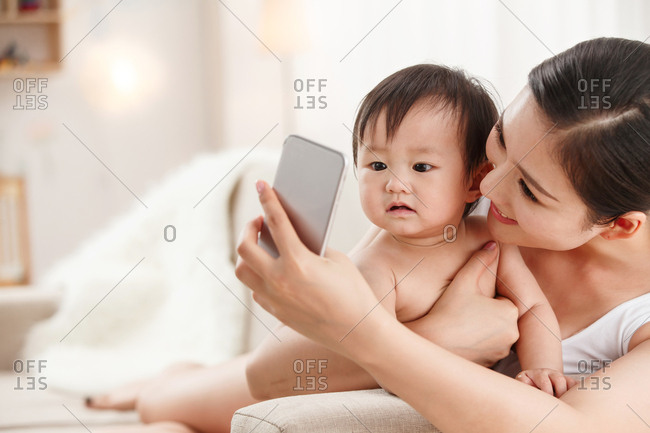 Mother to baby pictures