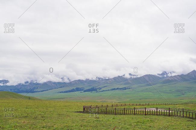 Nalati grassland in xinjiang