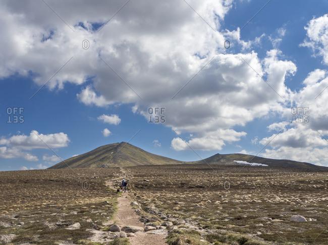 Great Britain- Scotland- Cairngorm- Bynack More