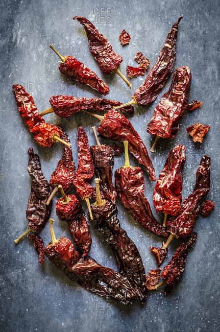 Dried peppers Peperoni Cruschi