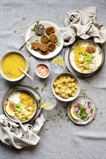 Indian Vegan Dinner