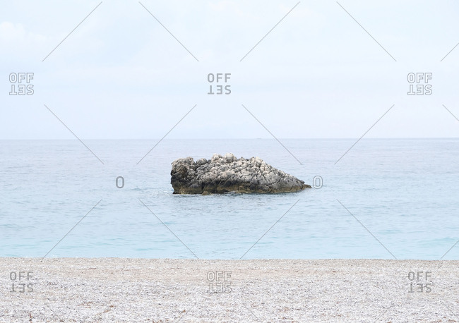 Small island of rocks