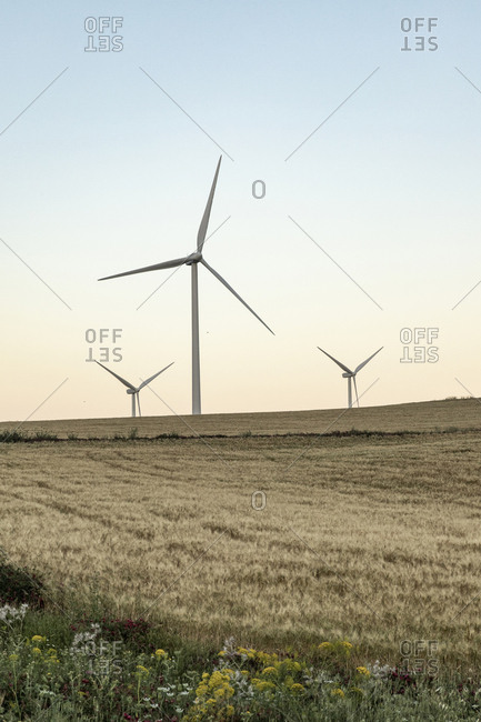 Spain- Andalusia- wind turbines