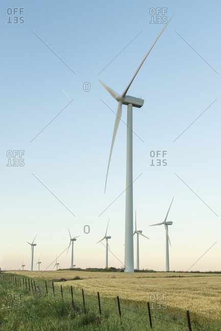 Spain- Andalusia- wind turbines